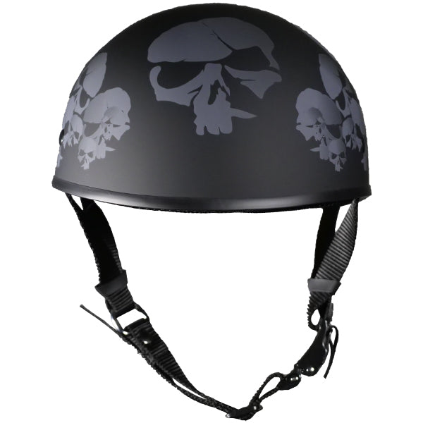 Micro Slim Skull Nation Flat Black