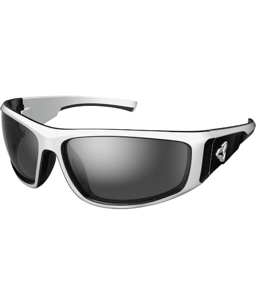 Howler Polar White And Black Frames With Polarized Grey Lenses