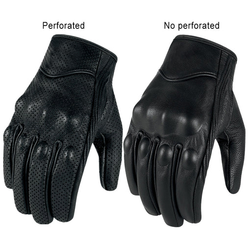 Goat skin Leather Touch Screen Gloves Men/Women