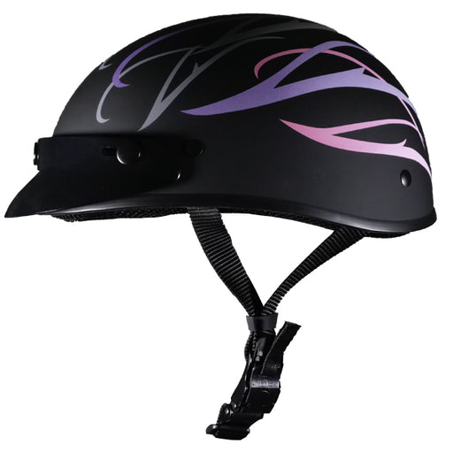 Micro Slim Pink/Purple Flat Black w/Peak