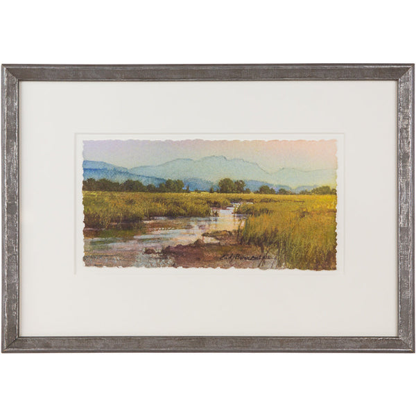 Marsh Sunset  by Cindy Baron, Framed