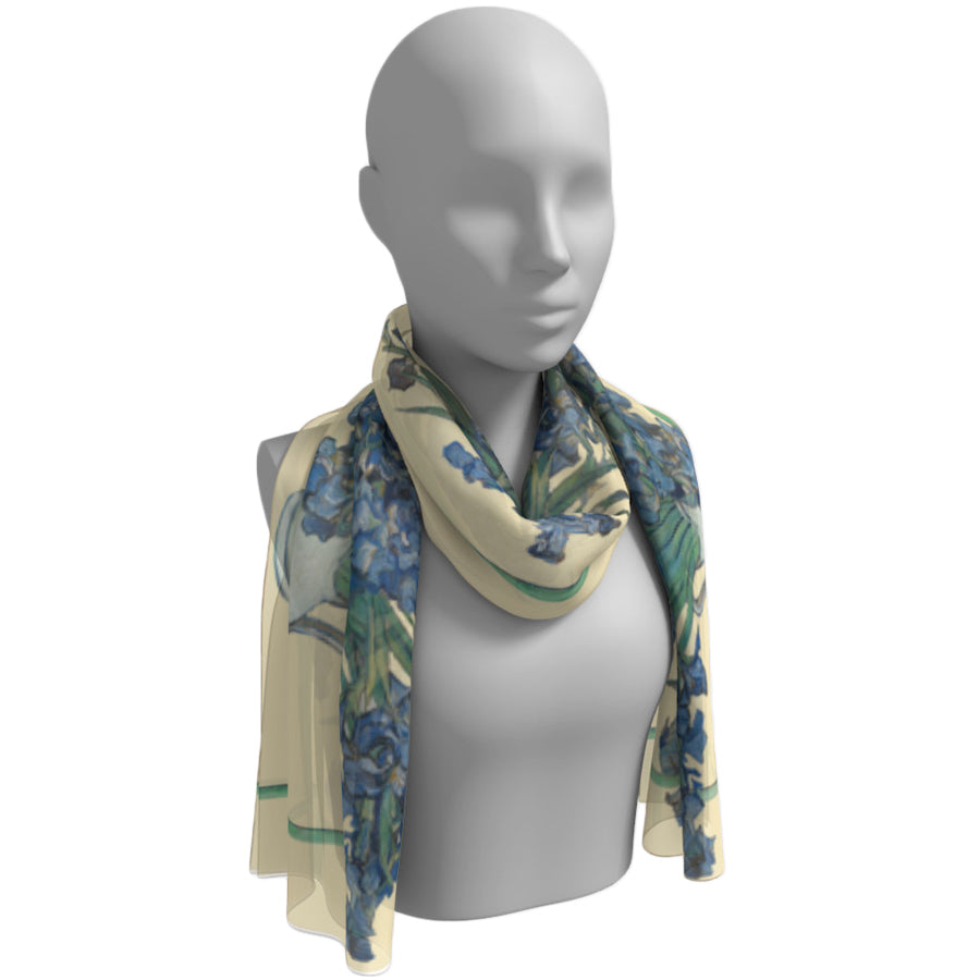 Irises Reimagined Scarf