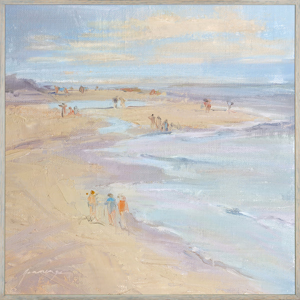 Beach Walk by Denise Jennings