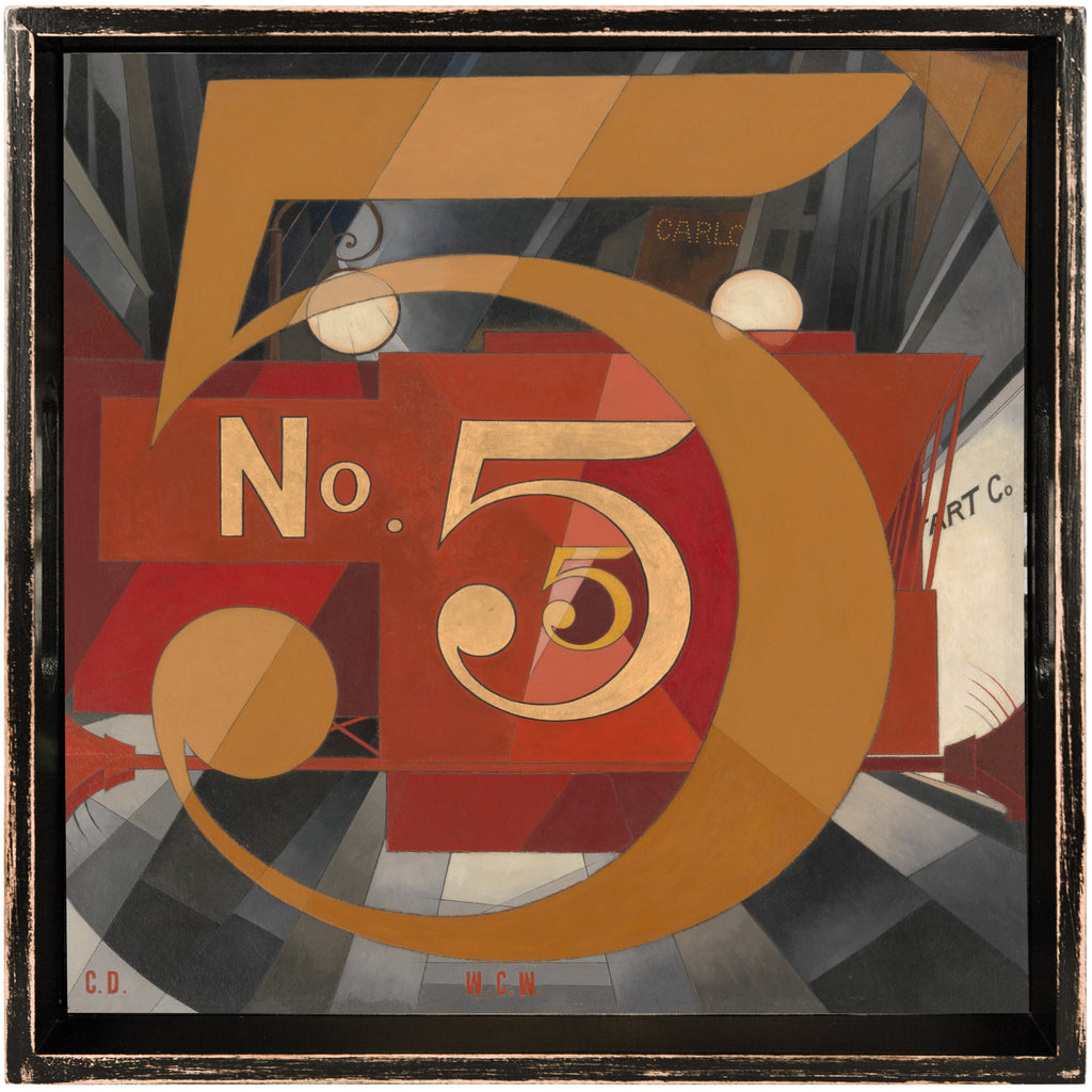 No. 5 Tray by Charles Demuth