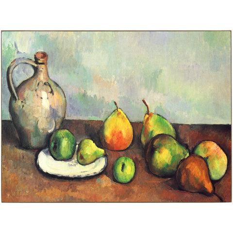 Still Life, Pitcher and Fruit