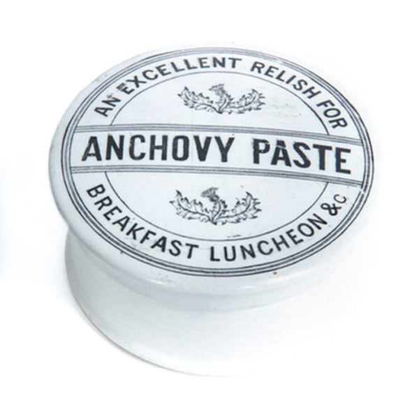 Anchovy Paste Jar, British