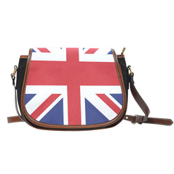 Great Britain, Union Jack, saddle bag purse, Queen of England, women's