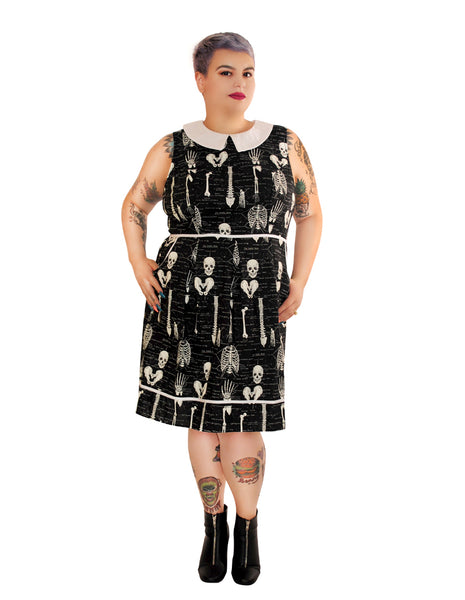 1406 Anatomically Correct Dress - glow in the dark