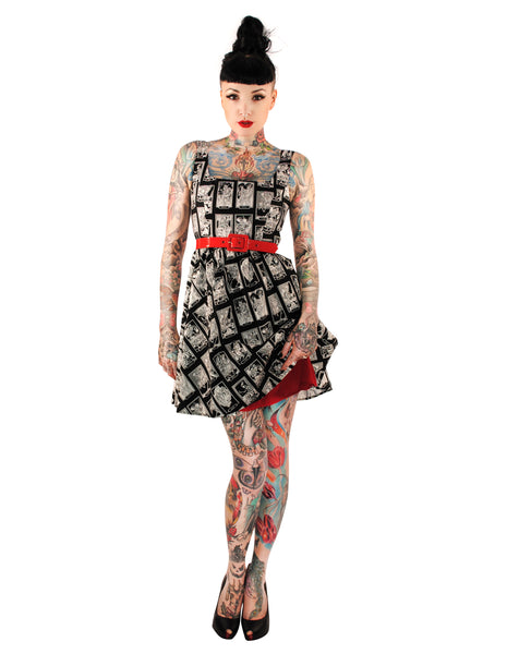 3417 Tarot Cards Dress