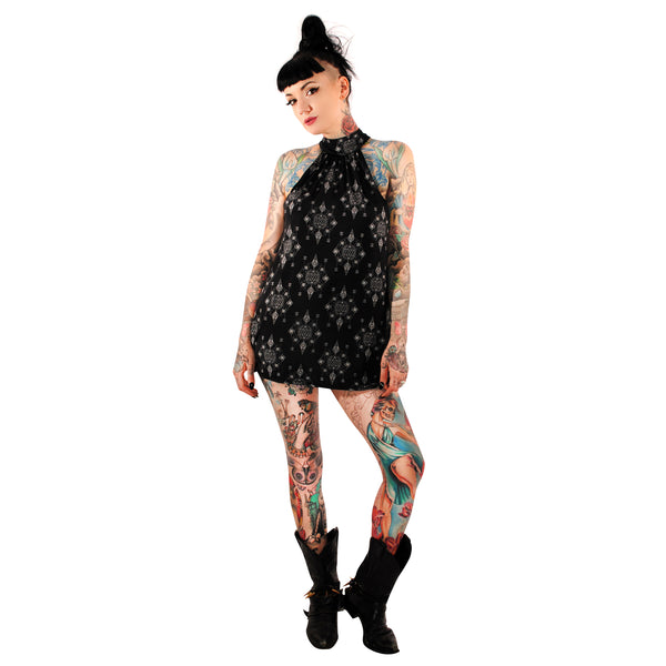 3443 Dark Geometry Dress