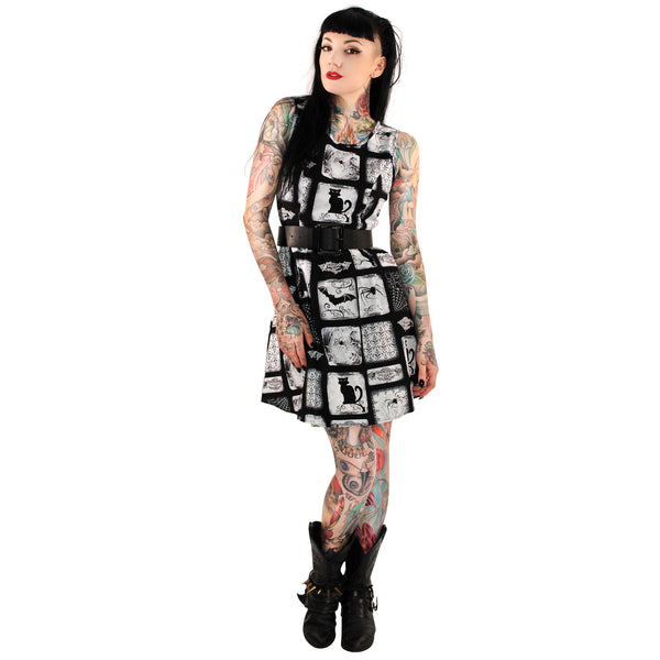 3179 Macabre Dress