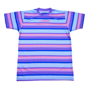 Grab n' Grape Striped Tee