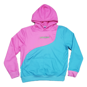 Cotton Candy Swirl Hoodie