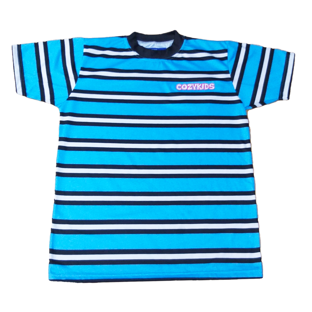 Double Stuffed Striped Tee