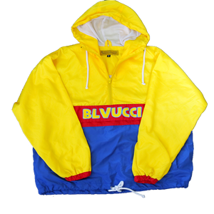 Hooded Primary Windbreaker
