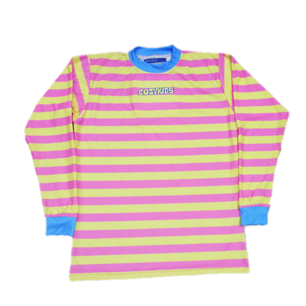 Strawberry Lemonade Striped Tee
