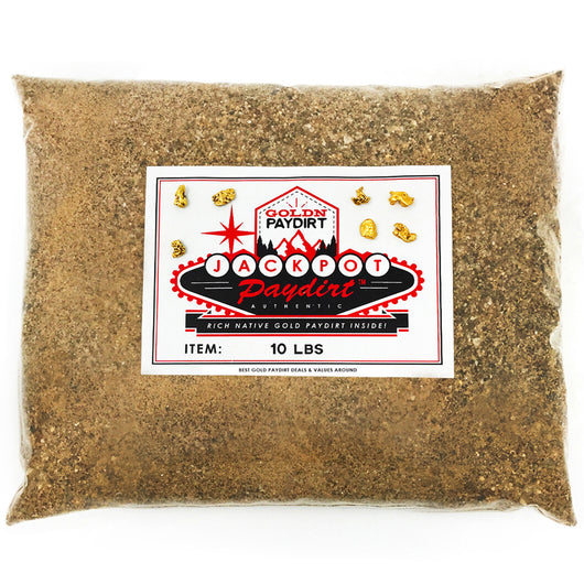 10 Lb. JACKPOT PAYDIRT™ Gold Paydirt Unsearched