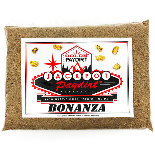 *NEW*: 2020 JACKPOT 'Bonanza' - Gold Paydirt Concentrate - Panning Pay Dirt Bag