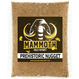 Mammoth 'PREHISTORIC NUGGET' Paydirt - Gold Prospecting Panning Concentrate Pay Dirt Bag