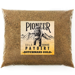 Pioneer 'DUTCHMANS GOLD' Paydirt - Gold Prospecting Panning Concentrate Pay Dirt Bag