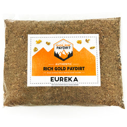 Goldn Paydirt 'EUREKA' Panning Pay Dirt Bag Gold Paydirt Panning Unsearched
