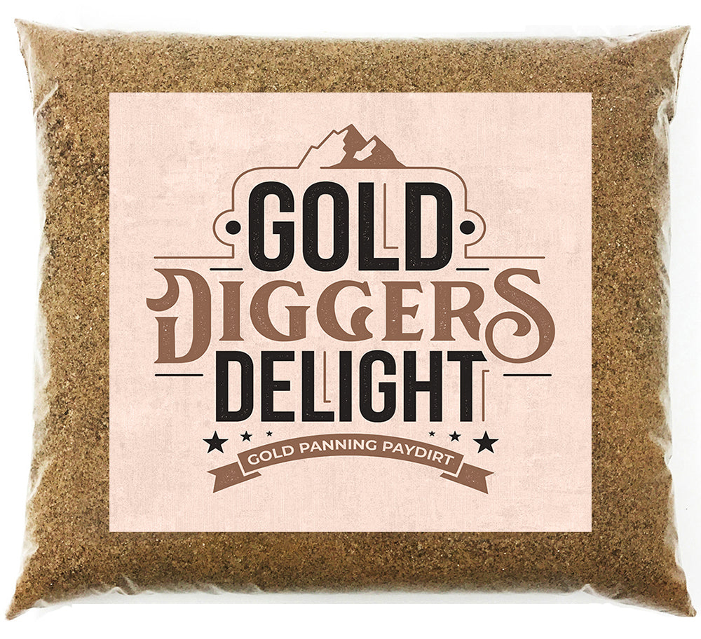 *BOGO* Gold Diggers Delight '5 OUNCE GOLD CHASE' - Gold Paydirt Panning Concentrates