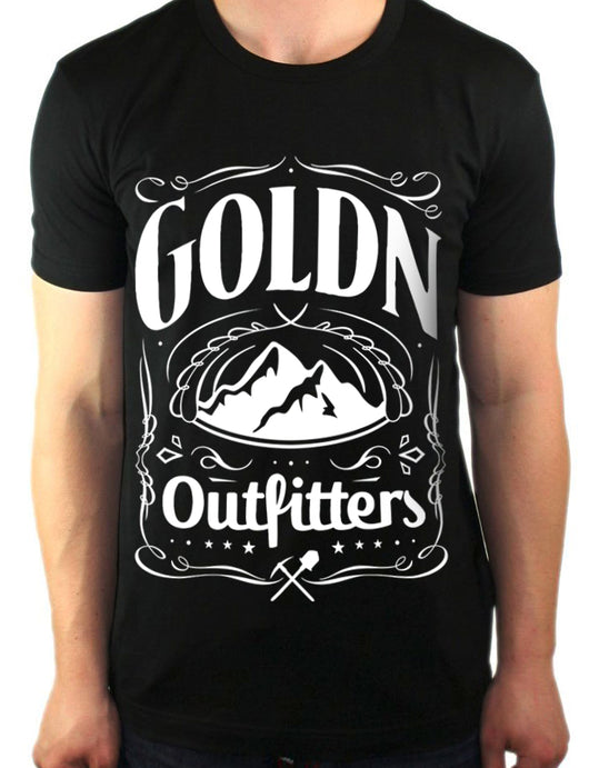 Goldn Outfitters - 'Mountain Axe' Tee Shirt