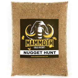 MAMMOTH NUGGET HUNT - Gold Paydirt Concentrate - Hunt For Multi-Gram Nugget