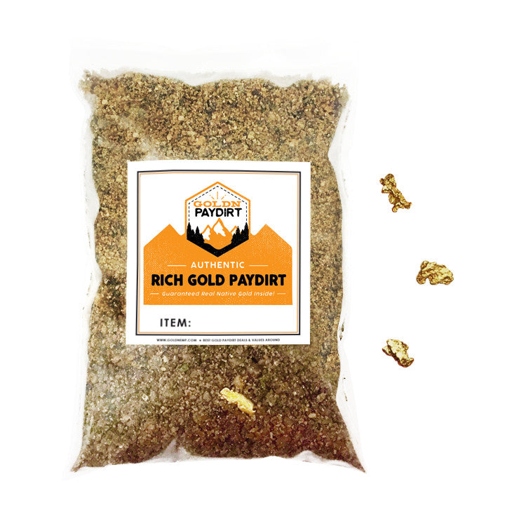 2 Lb Rich Gold Paydirt Unsearched Concentrate
