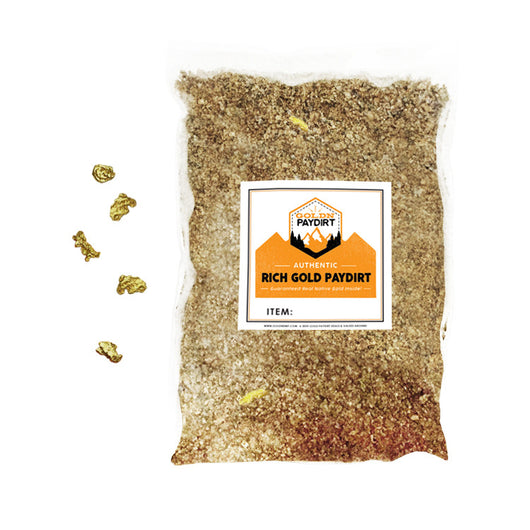 5 Lb. Rich Gold Paydirt Unsearched Concentrate