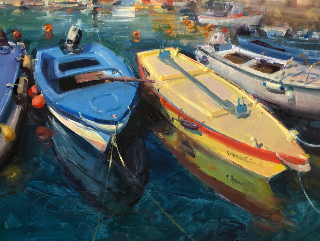 """Boats of Piran"""
