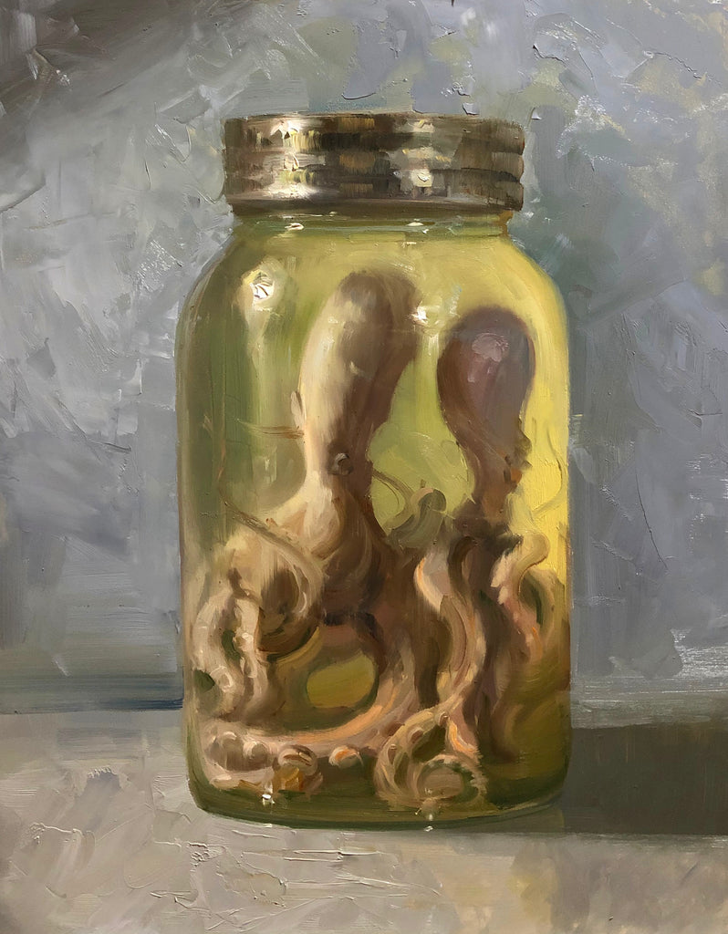 """Octopus in Jar"""