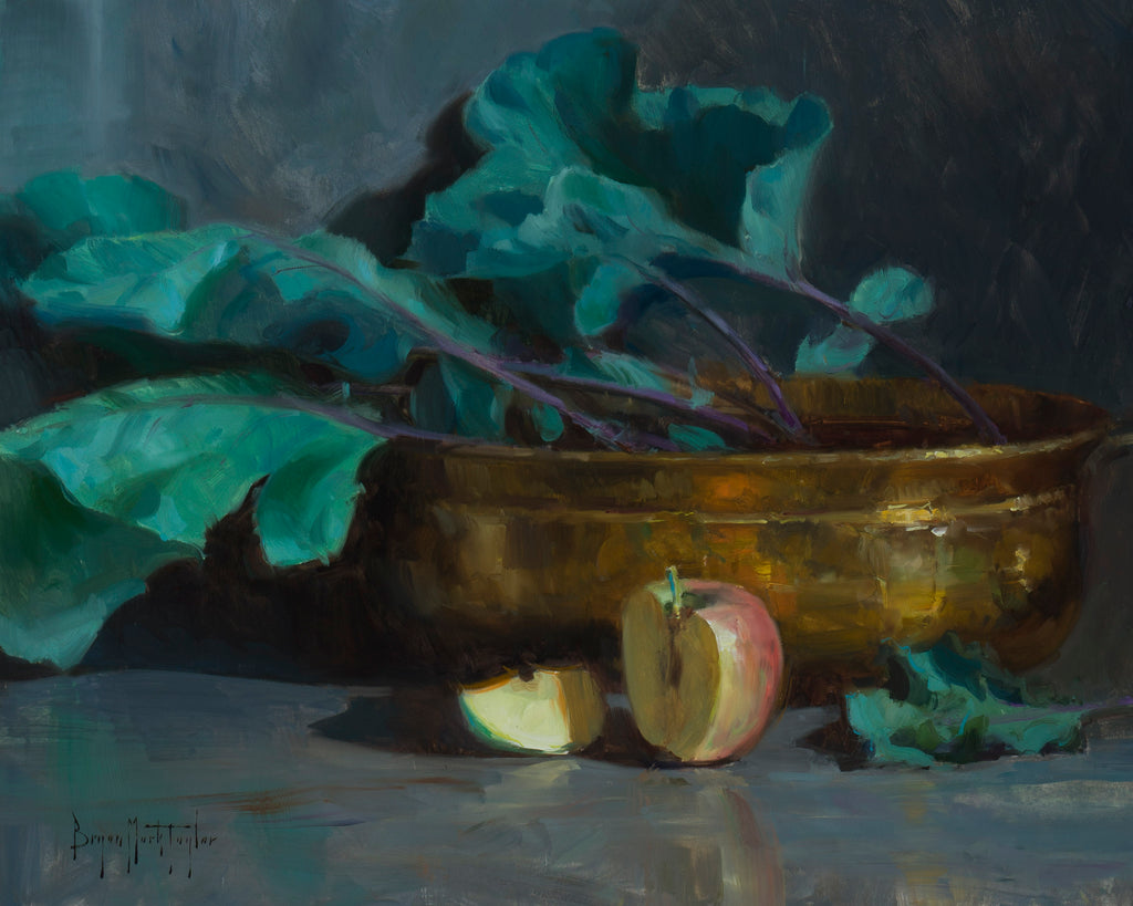 """Kohlrabi and Apples"""