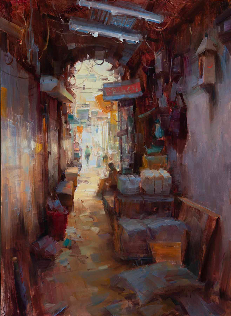 """Old Dehli Alleyway"""