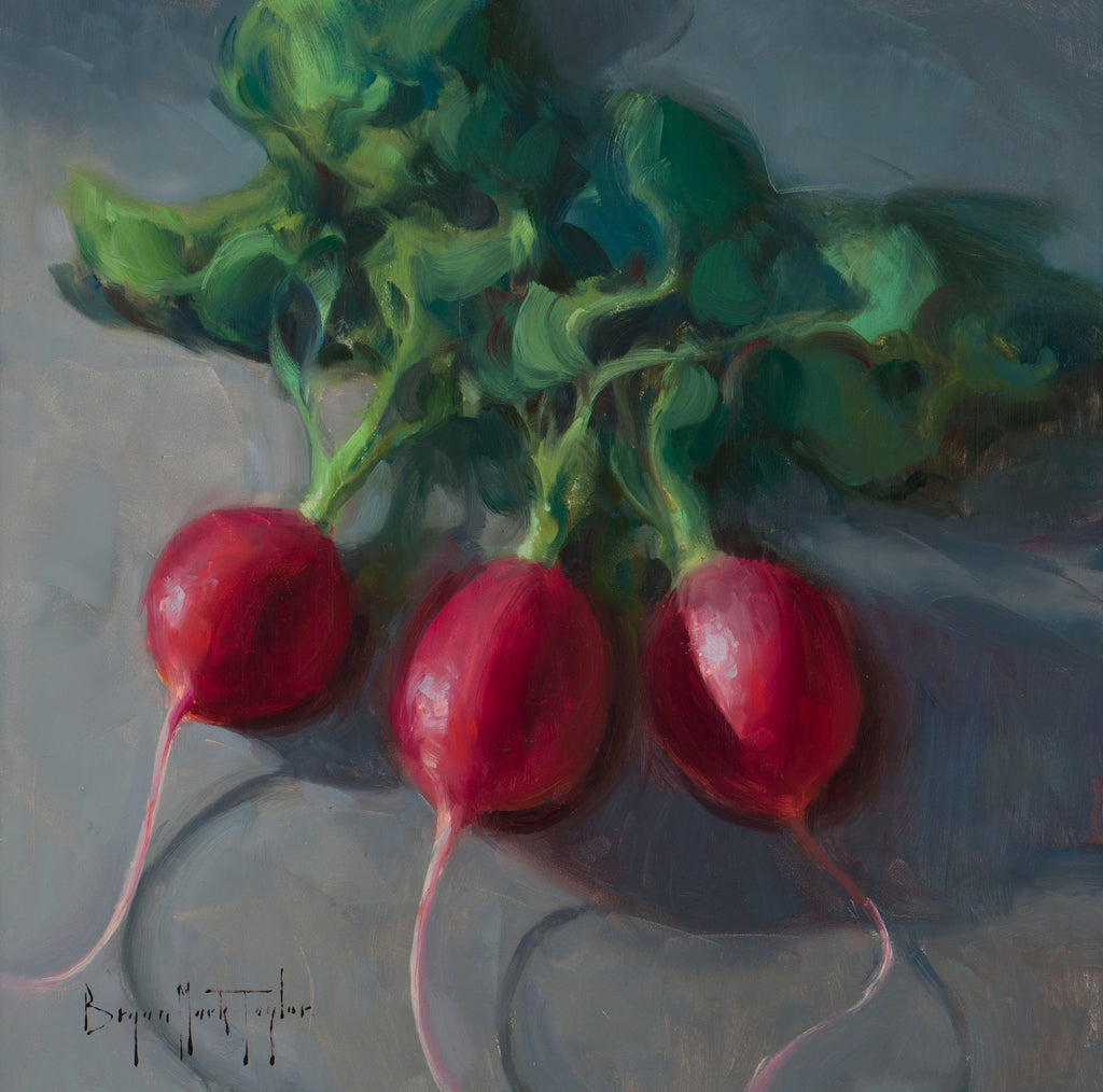 """Three Radishes"""