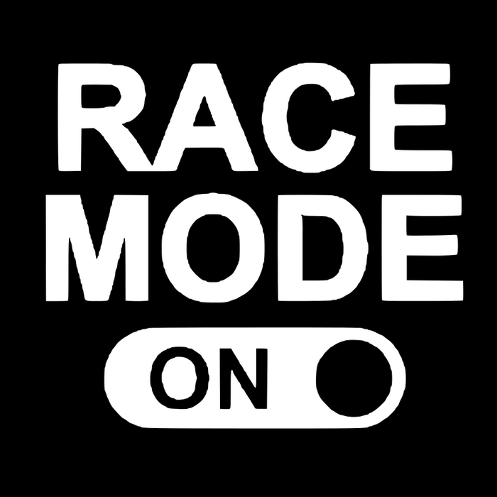 Race Mode - ON Vinyl Sticker