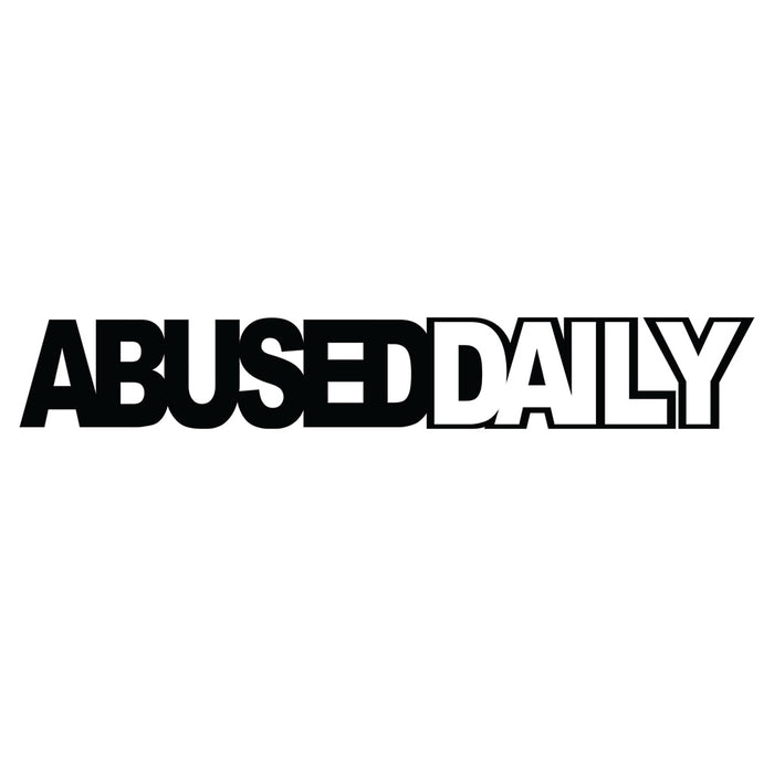 Abused Daily Vinyl Sticker