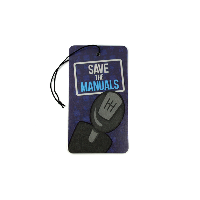 Save the Manuals Air Freshener