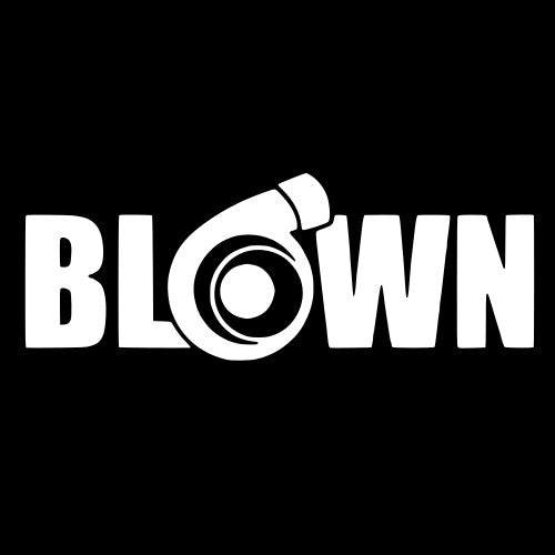 Blown Turbo Vinyl Sticker
