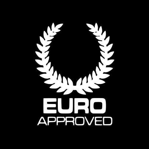 Euro Approved Vinyl Sticker