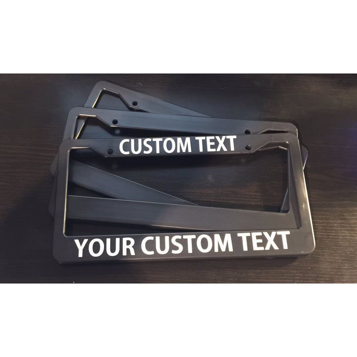 Dual License Plate Frame