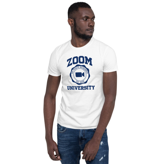 Zoom University Short-Sleeve Unisex T-Shirt