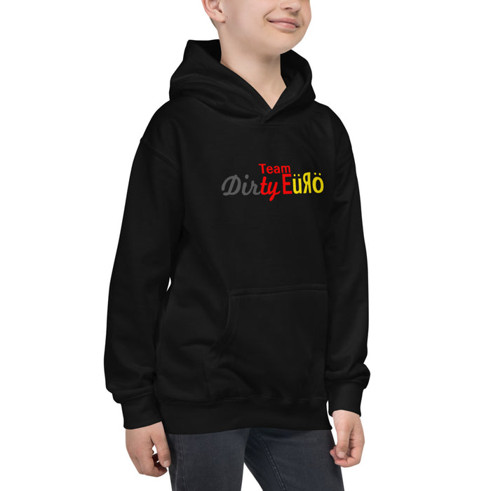 Team Dirty Euro Official Team Kids Hoodie