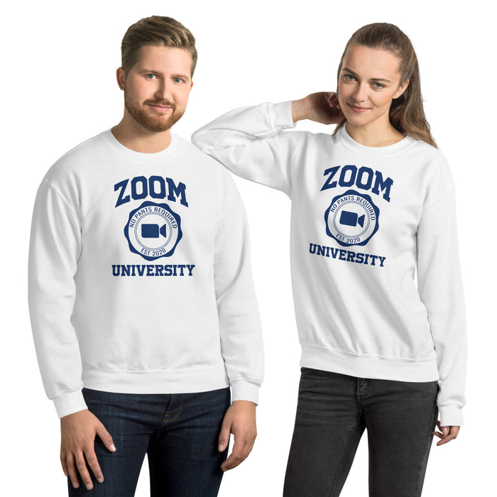 Zoom University Crew Neck Sweatshirt