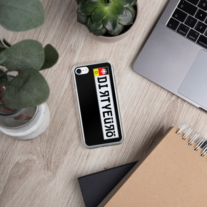 Team Dirty Euro Official Plate iPhone Case