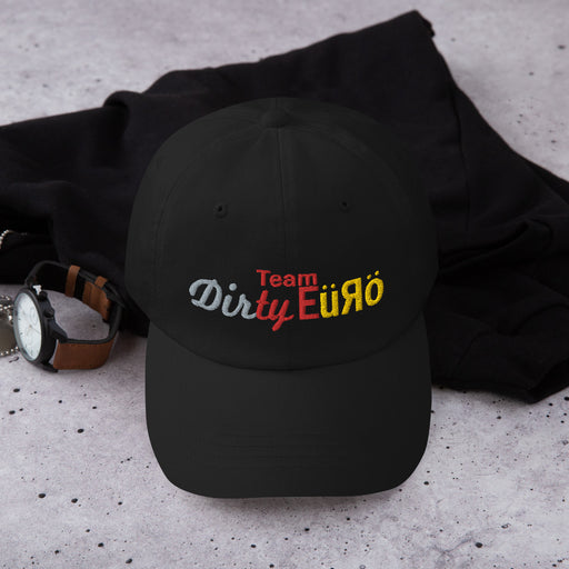 Team Dirty Euro Official Logo Dad Hat