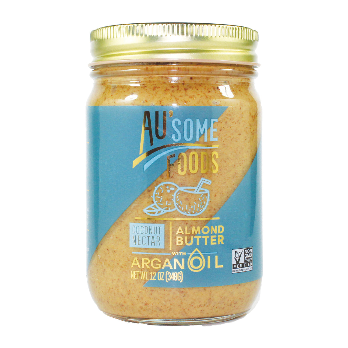 best almond butter. Au'some almond butter with argan oil. coconut nectar. Au'some Foods