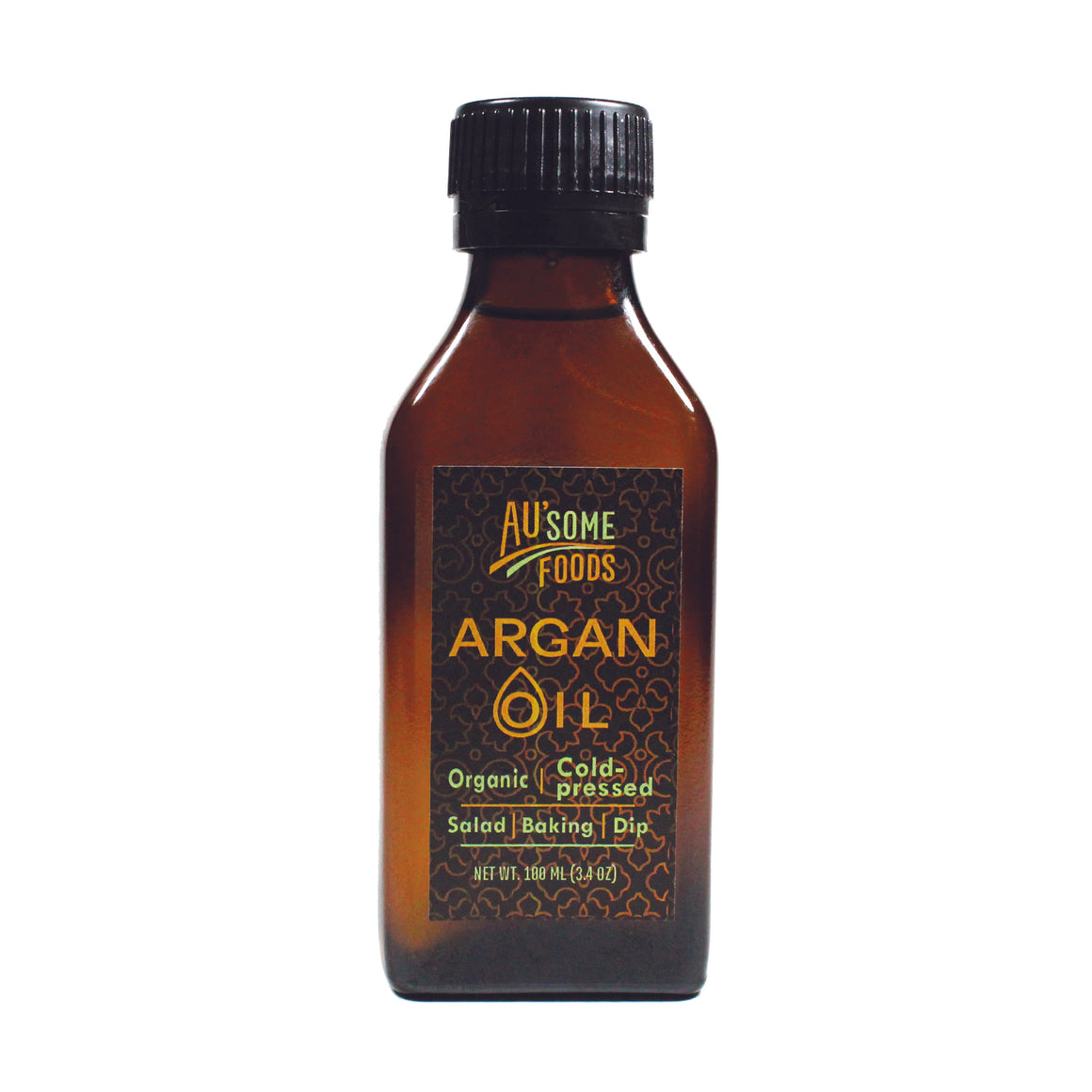 organic cold pressed argan oil. Au'some Foods