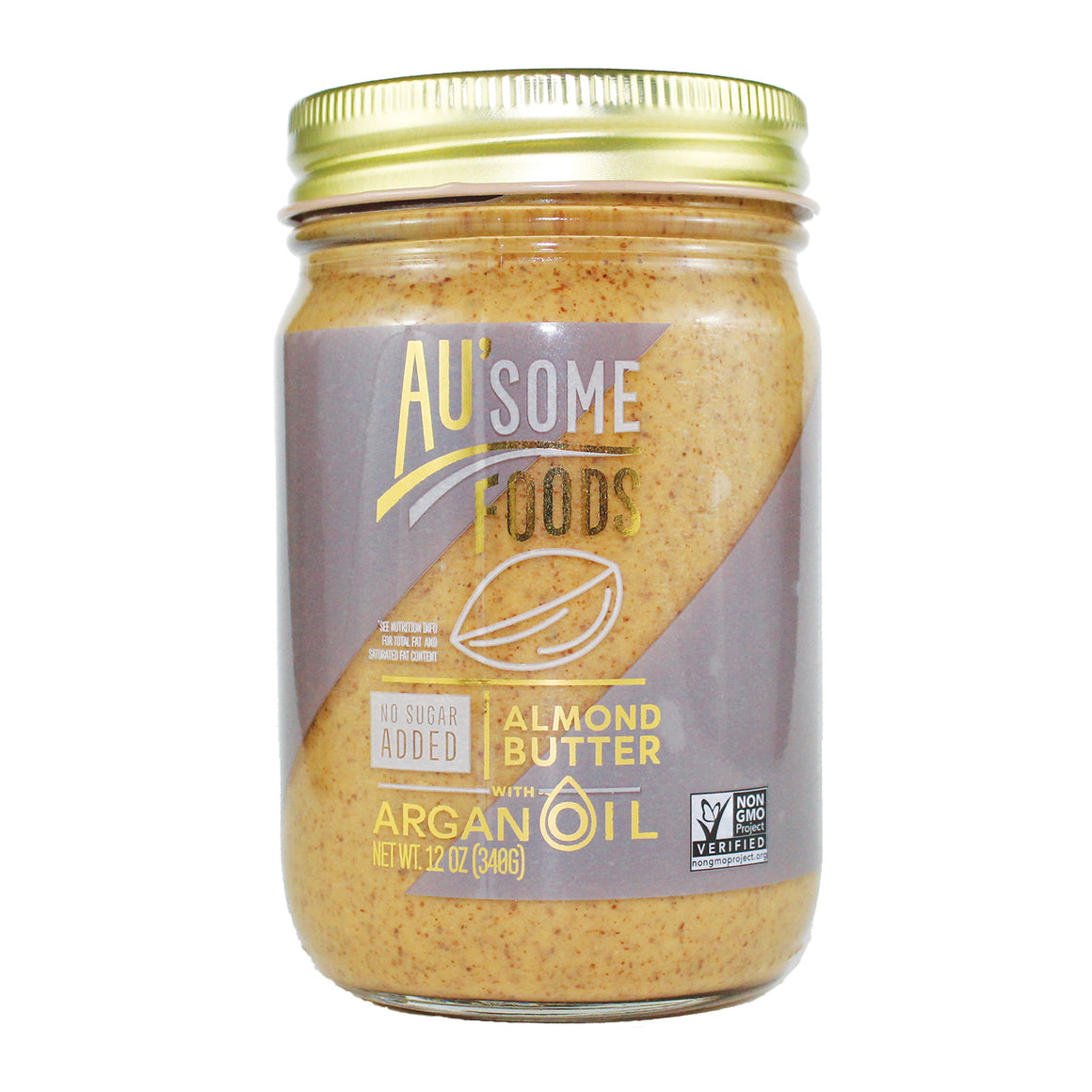 best almond butter. Au'some Foods almond butter with argan oil. no sugar added. Au'some Foods