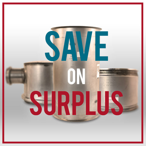 Save on Surplus DPFs, DOCs and more!